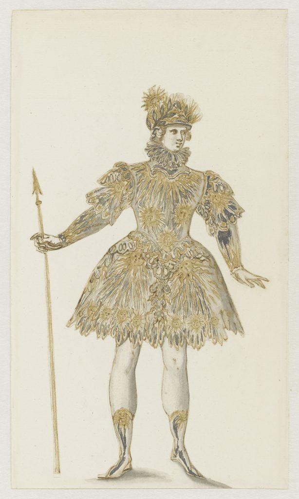 Les plaisirs du roi : du costume à la danse