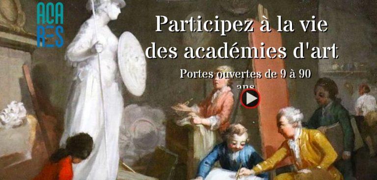 Participez à la vie des Académies d'art ! Retour d'expérience sur le montage d'une exposition virtuelle