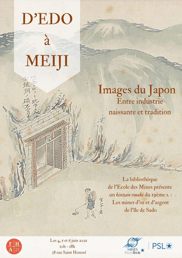 D'EDO A MEIJI : IMAGES DU JAPON ENTRE INDUSTRIE NAISSANTE ET TRADITION