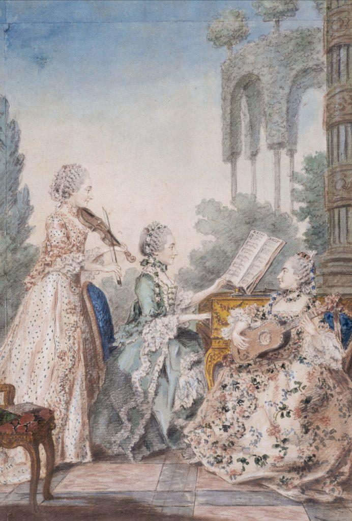 Plaisir musical et visuel à l'âge baroque : perception et mécaniques comparées