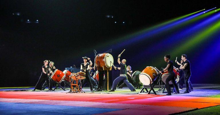 Concert de wadaiko (Paris Taiko Ensemble)