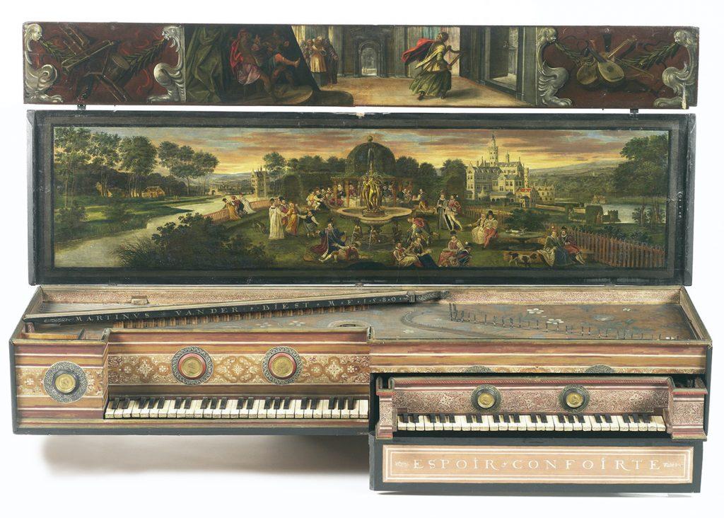 L'Hortus musicus comme lieu de convergence des arts et des plaisirs : une vision en abîme sur les instruments à clavier (1480-1650)